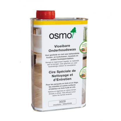 Huile Cire entretien OSMO pour traitement du bois