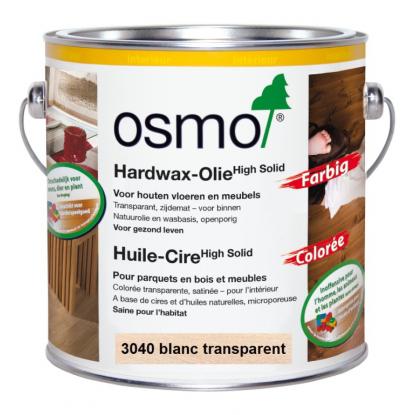 Huile Cire colorée blanche OSMO