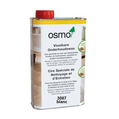 Huile Cire entretien Blanc OSMO