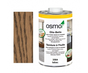 Teinture à l'huile OSMO tabac pour parquet et bois