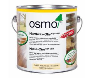 Huile cire incolore satinée pour parquet 10L - OSMO 3032