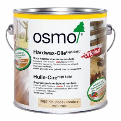 Huile cire incolore mat pour parquet - OSMO 3062