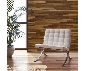 Lambris bois et panneaux muraux woodenwall en noyer