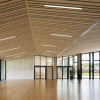Salle des fêtes Saint Léger sous Cholet - réalisation l'Ame du Bois Parquet