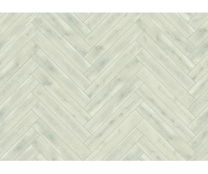 Revêtement de sol : parquet contrecollé en chêne vintage blanc