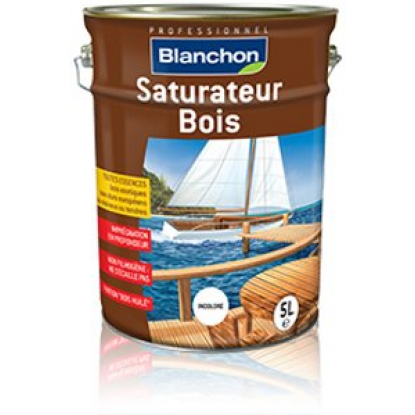 saturateur bois incolore 5L