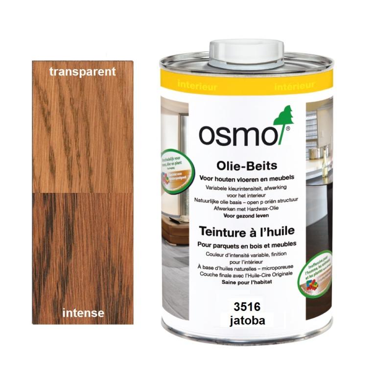 Teinture à l'huile OSMO Jatoba pour parquet et bois