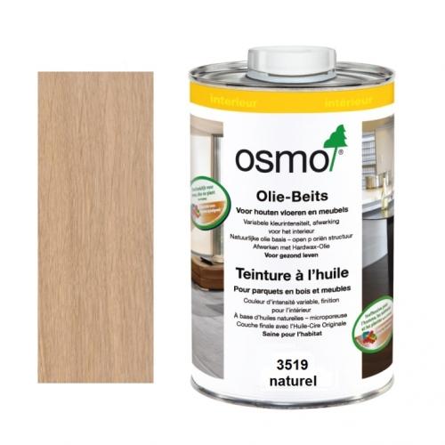 Teinture à l'huile OSMO naturel pour parquet et bois