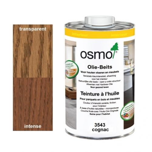 Teinture à l'huile OSMO Havane pour parquet et bois