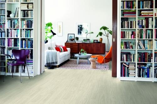 Sol vinyle 40020 optimium chêne blanc nordic planche