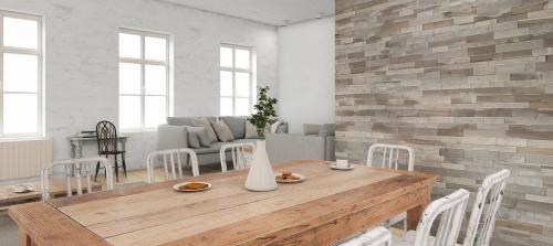 Lambris bois et panneaux muraux woodenwall grigio