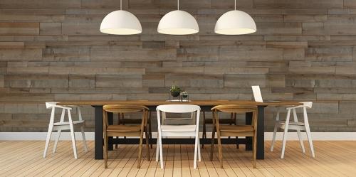 Lambris bois et panneaux muraux woodenwall szary
